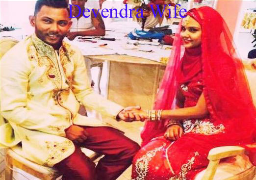 Devendra Bishoo wife
