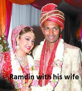 Dinesh Ramdin wife