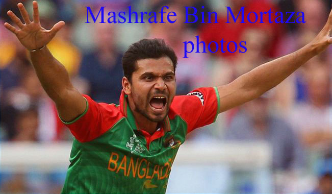 Mashrafe Bin Mortaza photos