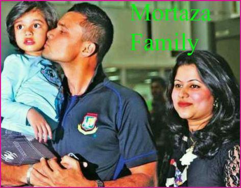 Mashrafe Mortaza family