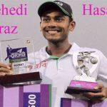 Mehedi Hasan Miraz bowling