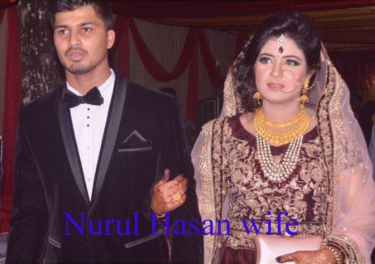 Nurul Hasan wife