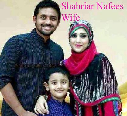 Shahriar Nafees wife