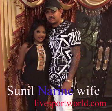 Sunil Narine wife