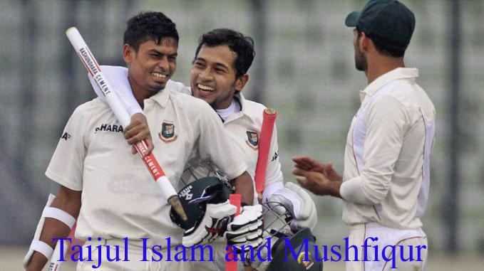 Taijul Islam & Mushfiqur Rahim