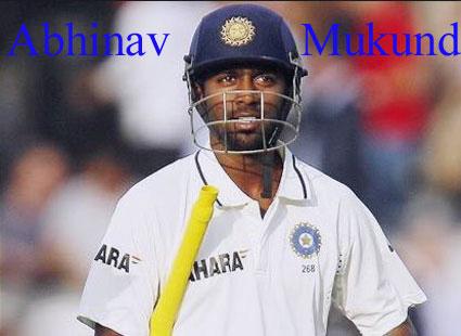 Abhinav Mukund cricketer