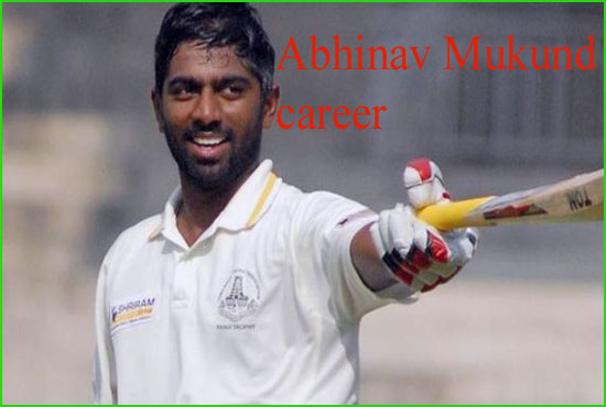 Abhinav Mukund Cricketer, marriage, caste, IPL, wife, family, height and more