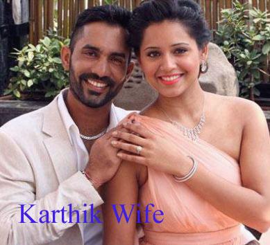 Dinesh Karthik wife photos