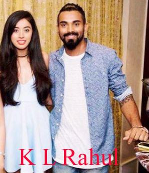 K L Rahul girlfriends