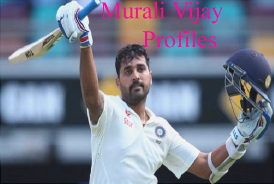 Murali Vijay Cricketer, Batting, son, IPL, wife, family, biography, height and more