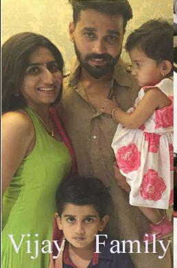 Murali Vijay family