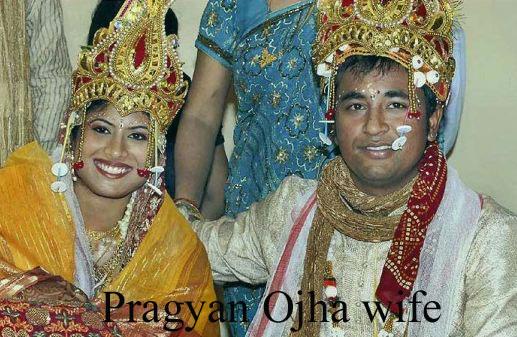 Pragyan Ojha wife