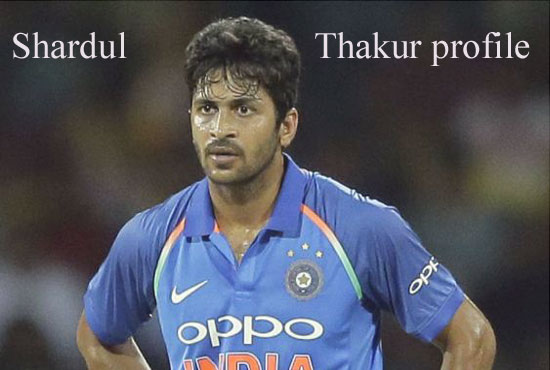 Shardul Thakur Cricketer, bowling, IPL, wife, family, age, height and so