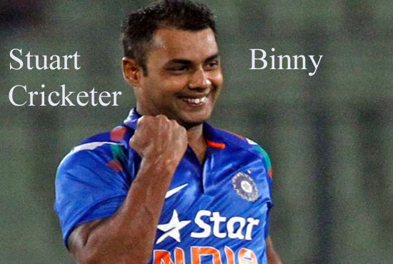 Stuart Binny Cricketer, IPL, wife, batting, family, height and so