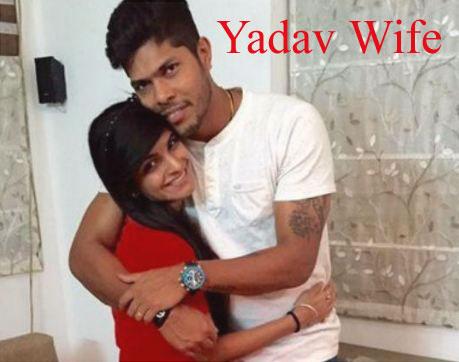 Umesh Yadav wife