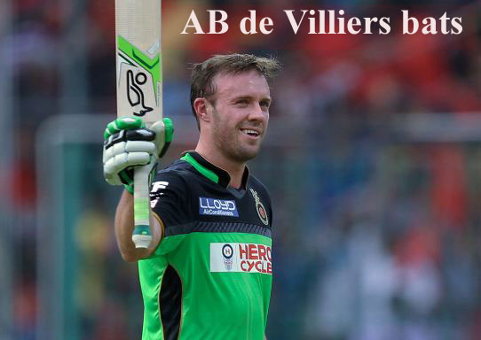 AB de Villiers batting record