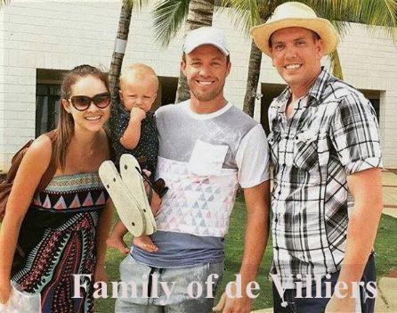 AB de Villiers family