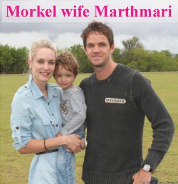 Albie Morkel wife