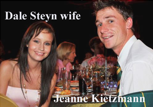 Dale Steyn wife