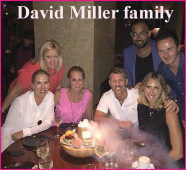 David Miller family