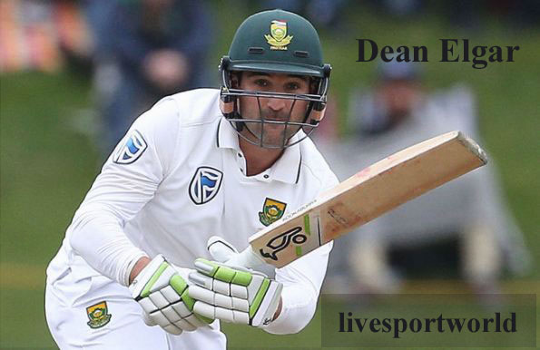 Dean Elgar batting