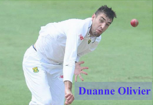 Duanne Olivier Cricketer, bowler, IPL, wife, family, age, height and so