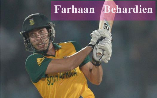 Farhaan Behardien biography