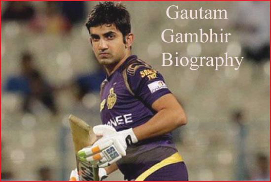 Gautam Gambhir Cricketer, news, IPL, wife, family, age, wiki and more