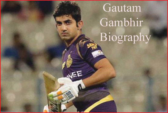 Gautam Gambhir cricketer