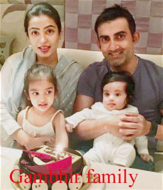 Gautam Gambhir family