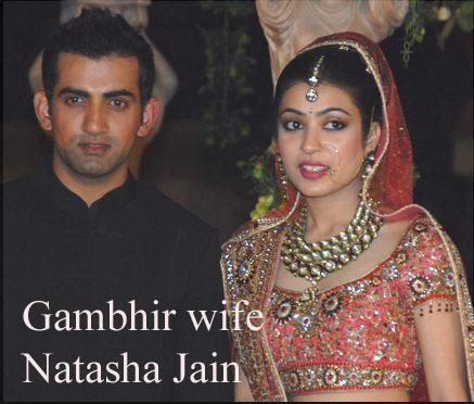 Gautam Gambhir wife