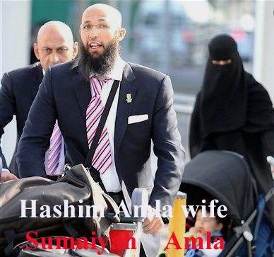 Hashim Amla wife