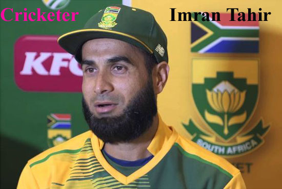 Imran Tahir Cricketer, bowler, IPL, wife, family, age, height and more