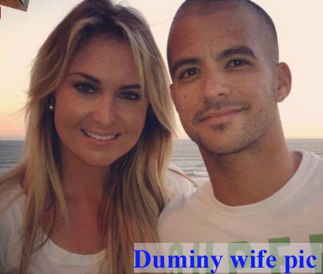 JP Duminy wife