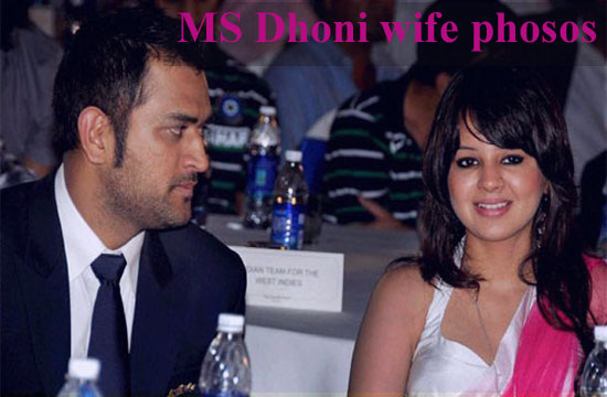 MS Dhoni wife
