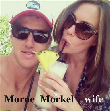 Morne Morkel wife