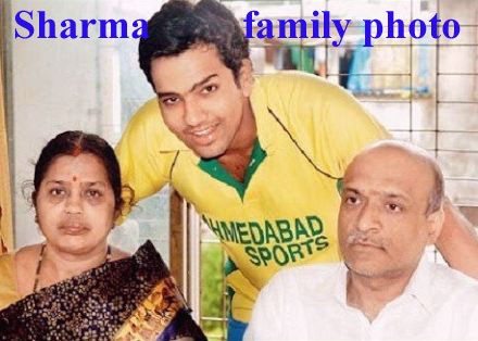 Rohit Sharma family