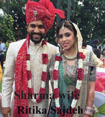 Rohit Sharma wife