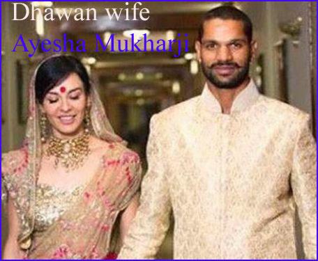 Shikhar Dhawan wife