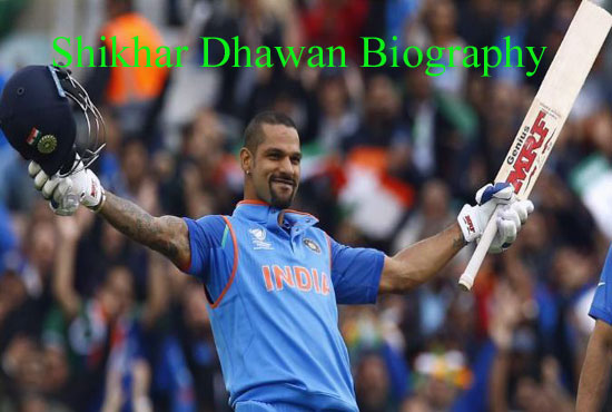 Shikhar Dhawan Cricketer, Batting, IPL, wife, family, age, height and more
