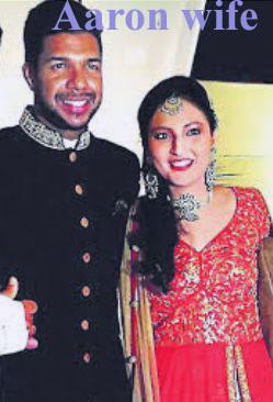 Varun Aaron wife