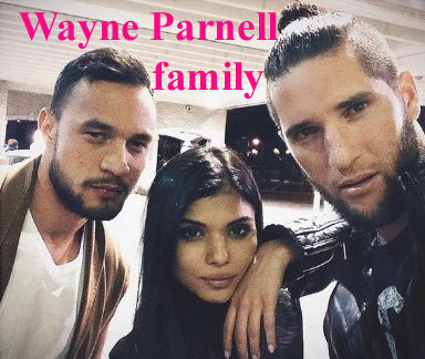 Wayne Parnell family