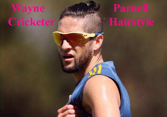 Wayne Parnell hairstyle