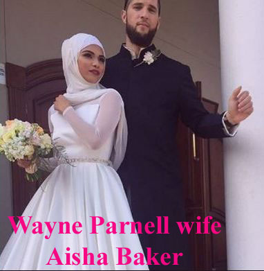 Wayne Parnell wife