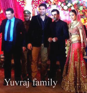 Yuvraj Singh family