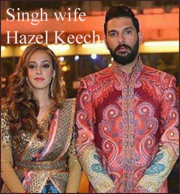 Yuvraj Singh wife