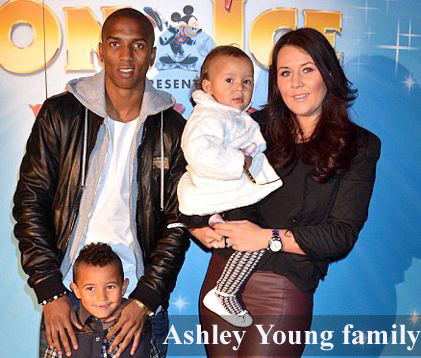 Ashley Young family