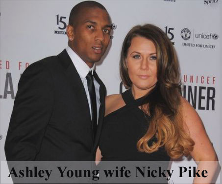 Ashley Young wife