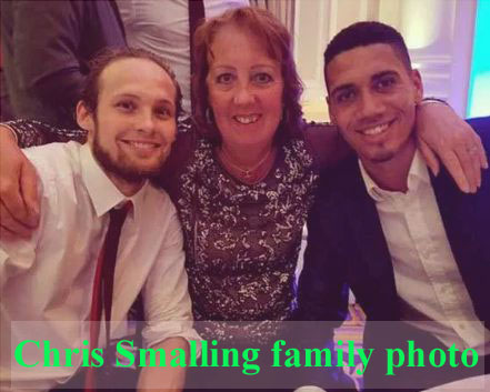 Chris Smalling family
