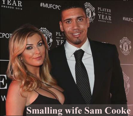Chris Smalling wife